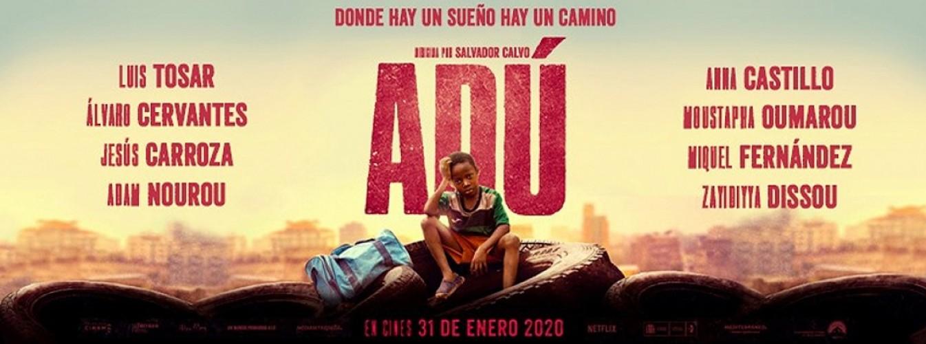 Película destacada Adú en Cines Cristal de Lugo
