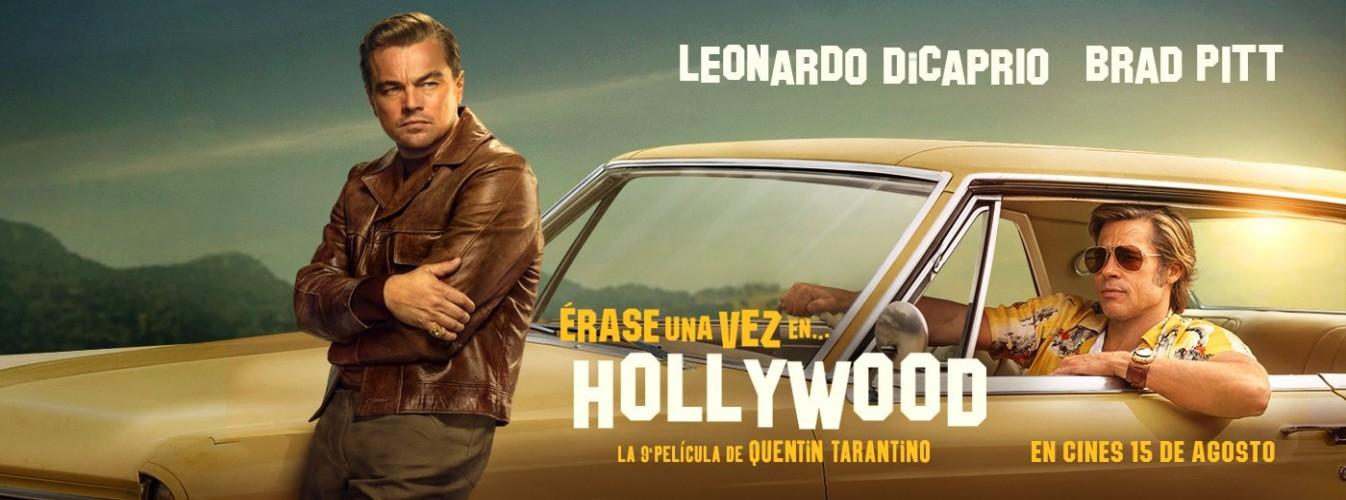 Película destacada Érase una vez en... Hollywood en Cines Cristal de Lugo