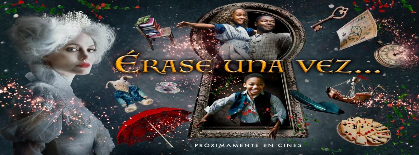 Película destacada Érase una vez... en Cines Cristal de Lugo