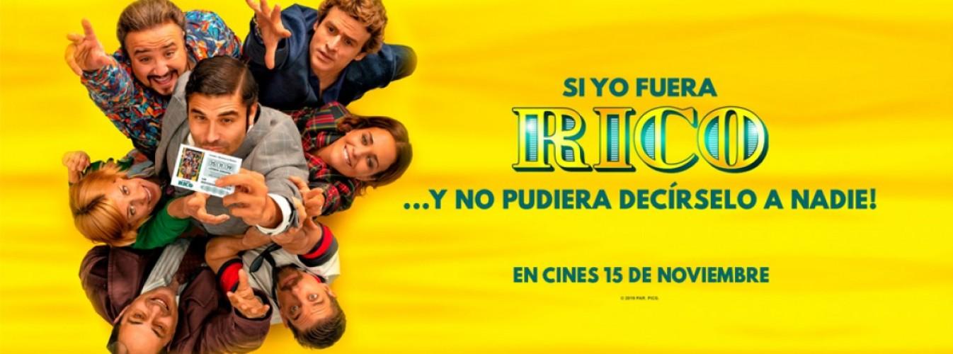 Película destacada Si yo fuera rico en Cines Cristal de Lugo