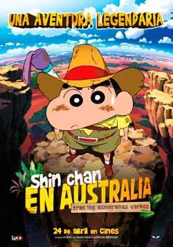Película Shin Chan en Australia tras las esmeraldas verdes en Cines Cristal de Lugo