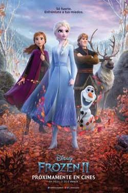 Película Frozen 2 hoy en cartelera en Cines Cristal de Lugo