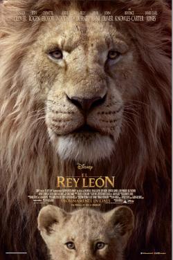 Película El rey león hoy en cartelera en Cines Cristal de Lugo