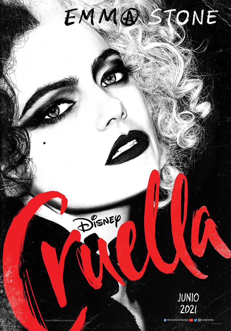 Película Cruella en Cines Cristal Lugo