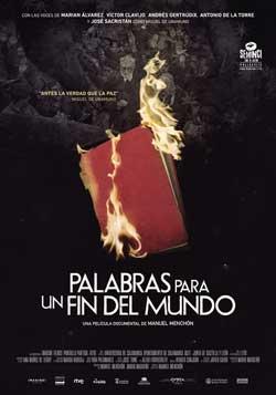 Película Palabras para un fin del mundo hoy en cartelera en Cines Cristal de Lugo