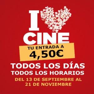 Promoción Tu entrada a 4,50€ todos los días en Cines Cristal de Lugo