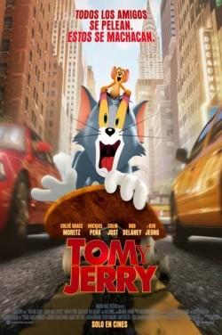 Película Tom y Jerry hoy en cartelera en Cines Cristal de Lugo