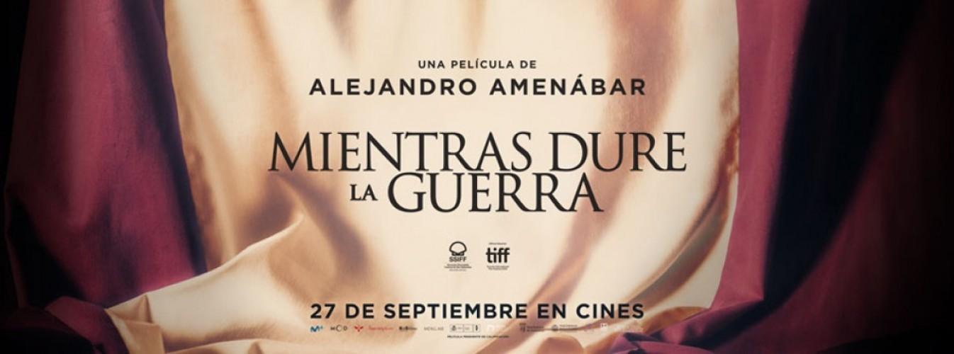 Película destacada Mientras dure la guerra en Cines Cristal de Lugo