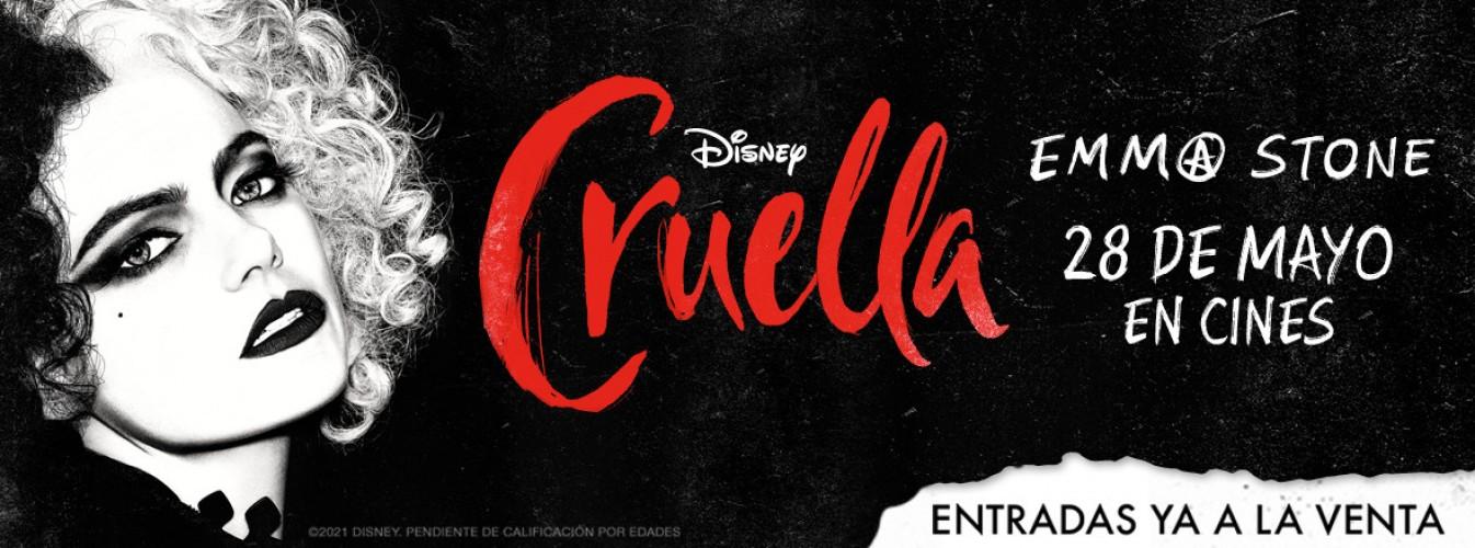 Película destacada Cruella en Cines Cristal de Lugo