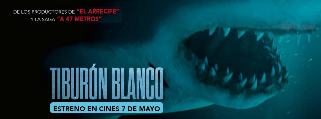 Película destacada Tiburón blanco en Cines Cristal de Lugo