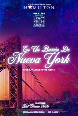 Película En un barrio de Nueva York en Cines Cristal Lugo