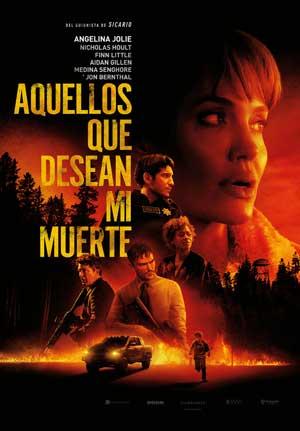 Película Aquellos que desean mi muerte hoy en cartelera en Cines Cristal de Lugo