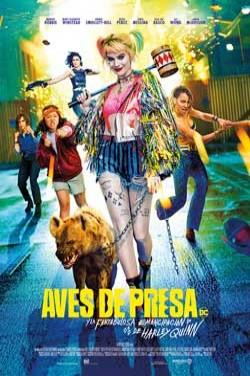 Película Aves de presa (y la fantabulosa emancipación de Harley Quinn) hoy en cartelera en Cines Cristal de Lugo