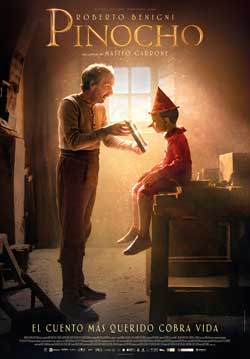 Película Pinocho próximamente en Cines Cristal de Lugo