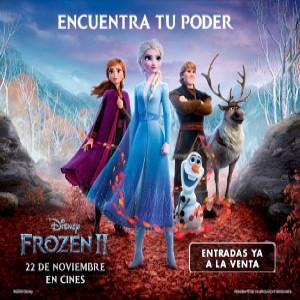 Promoción Frozen 2 en Cines Cristal de Lugo