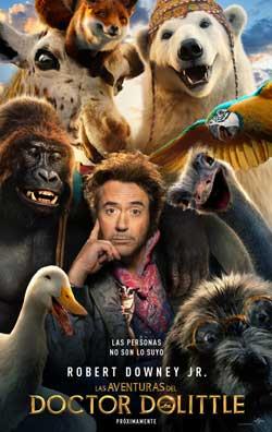 Película Las aventuras del Doctor Dolittle en Cines Cristal de Lugo