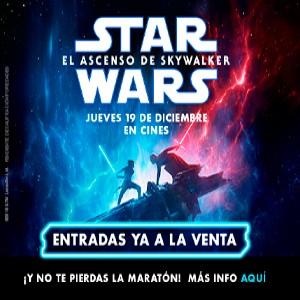 Promoción Star Wars: El ascenso de Skywalker en Cines Cristal de Lugo