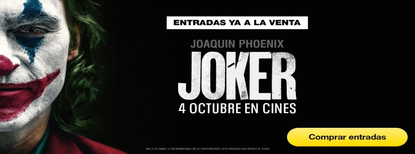 Película destacada Joker en Cines Cristal de Lugo
