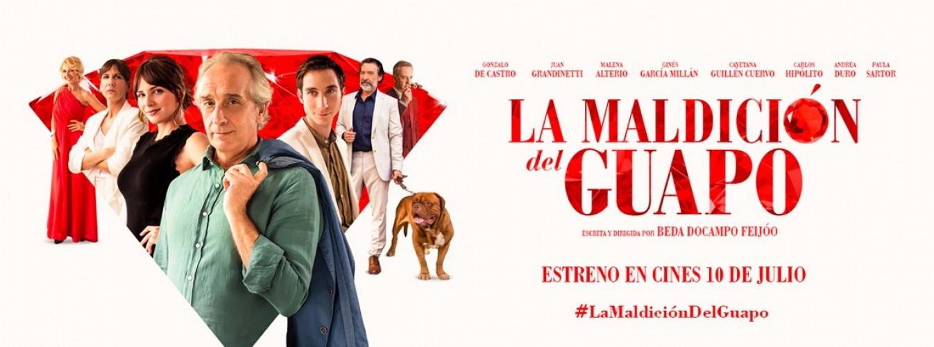 Película destacada La maldición del guapo en Cines Cristal de Lugo