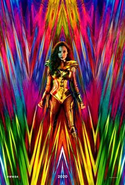 Película Wonder Woman 1984 hoy en cartelera en Cines Cristal de Lugo
